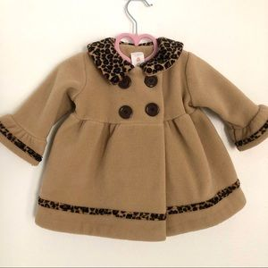 6M Cheetah Print Coat